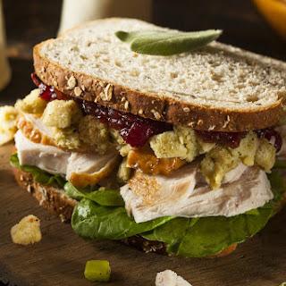 Friends Inspired Thanksgiving Turkey Sandwich
