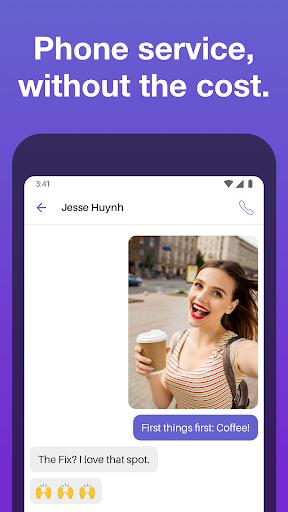 Text Free: Free Text Plus Call 8.58 screenshots 1