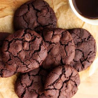 Gluten-Free Double Chocolate Cookies.