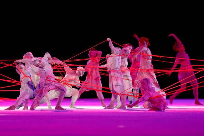 Hình ảnh lung linh đêm khai mạc Olympic Tokyo - ảnh 5