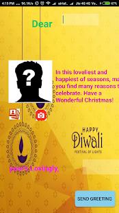 Diwali Greeting Card's 2017 - náhled