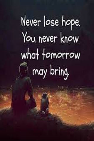 just hope
