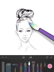 PaperDraw:Paint Draw Sketchbook APK screenshot thumbnail 14