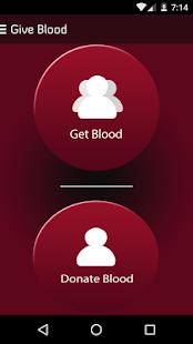 Give Blood-Blood Doner screenshot