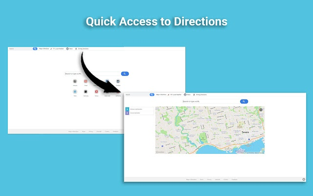 Directions Discovery Tab