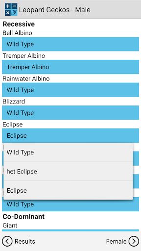 Reptile Calculator  screenshots 1
