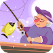 Fishing Granny - Funny,Amazing Fishing Game