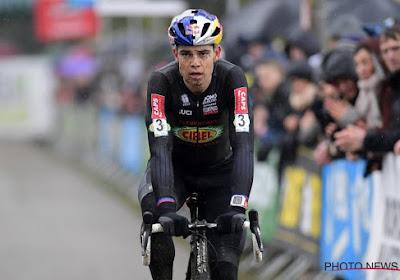 📷 Mooi! Wout Van Aert heeft een eerste veldrittraining achter de rug