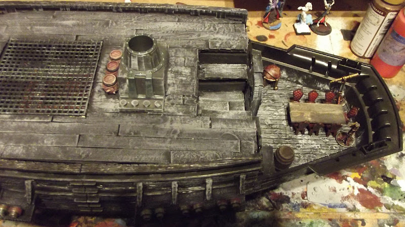 Photo: WIP: Furnished Captain's Cabin