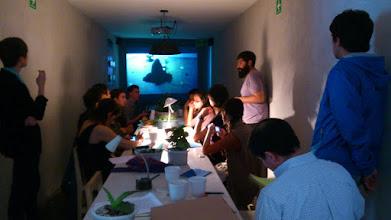 Photo: The Old Earth Seminar in Deep Spiritual Shit No.1 : presentation by Óscar Benassini