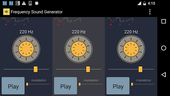 Frequency Sound Generator- screenshot thumbnail