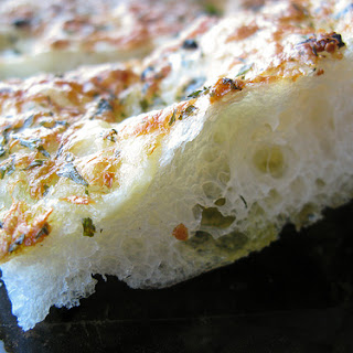 Garlic And Cheese Flatbread….