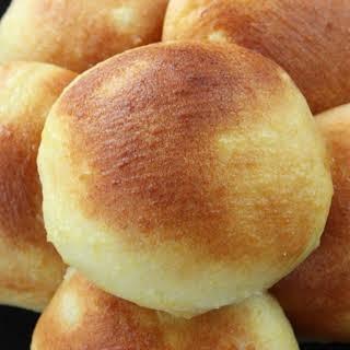 Pastry Cream Bread Rolls.