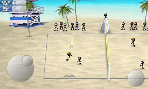 Stickman Volleyball 1.0.2 screenshots 1