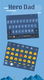 Hero-Dad-for-kika-keyboard 2
