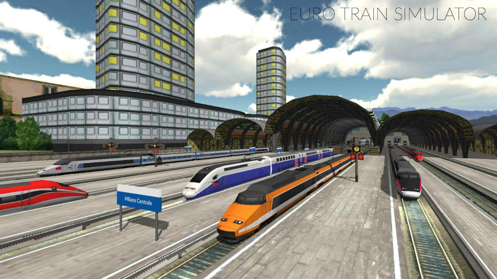 Euro Train Simulator Android Apps On Google Play