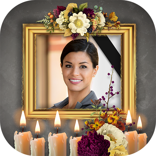 Condolence Photo Frames With Candle Apps On Google Play