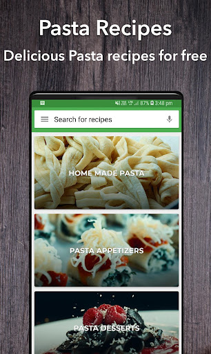 Pasta Recipes 37.0.0 screenshots 1