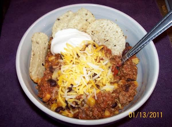 Touchdown Taco Soup Recipe