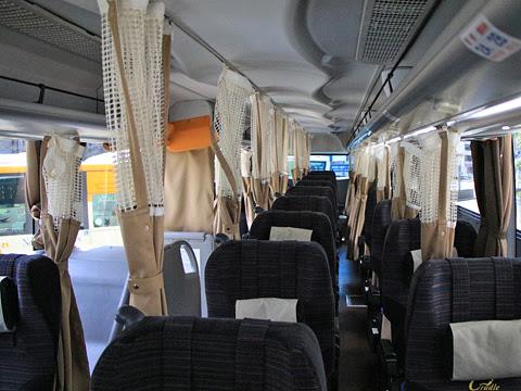 JRバス関東「グランドリーム号」「グラン昼特急号」 H677-14423 車内