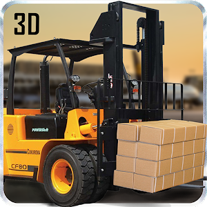 Cargo Forklift Operator 3D APK for Bluestacks  Download
