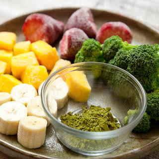 Matcha Powerhouse Breakfast Smoothie (Vegan, Raw, Gluten/Soy/Nut-Free).