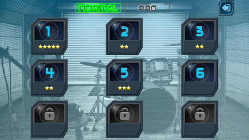 Drum Hero (rock music game, tiles style) 2.3 Mod screenshots 3