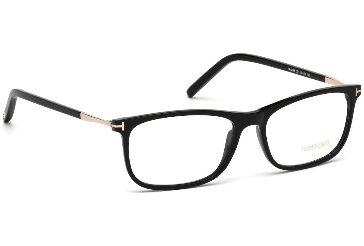1251eb8b7b Buy Tom Ford FT5398 C53 001 (shiny black   ) Frames