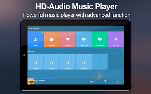 Musik-Player + Screenshot