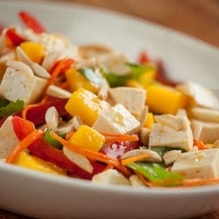 Mango-Miso Tofu Salad
