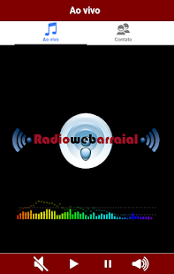 Web Rádio Arraial- screenshot thumbnail