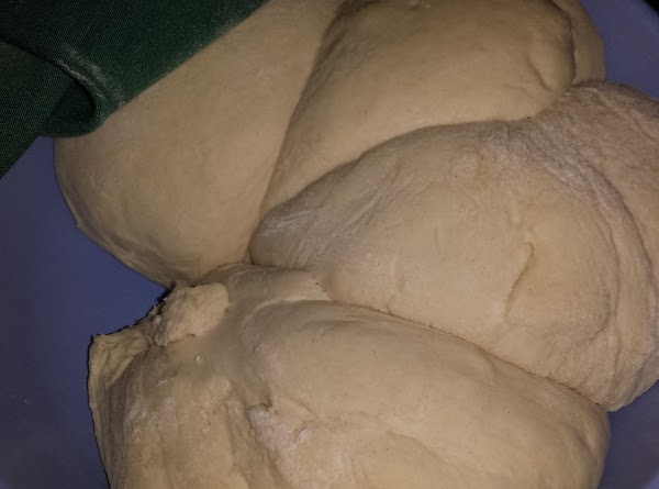 *** This is where the directions are different from making the bread! :)  When dough...