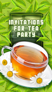 Invitations For Tea Party - náhled