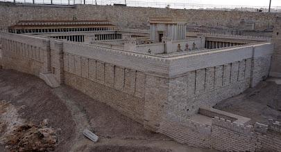 Photo: Model of Old Jerulalem Temple