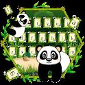 Cute Bamboo Panda Keyboard icon