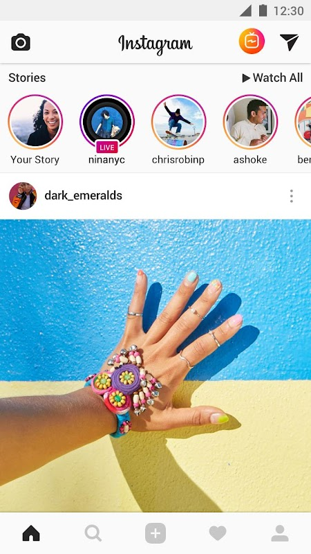 Instagram screenshots
