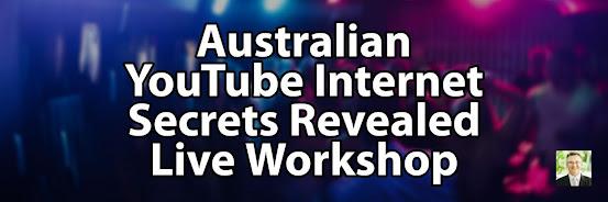YouTube Internet Secrets Revealed - Gold Coast