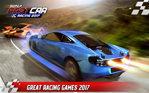 Super Fast Car Racing 2017 - náhled