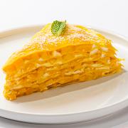 Mango Mille-Crêpe Cake (Slice)