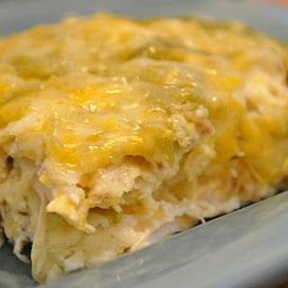 Chicken & Green Chile Casserole Recipe