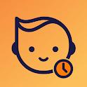 Baby Daybook - Newborn Breastfeeding Tracker App icon
