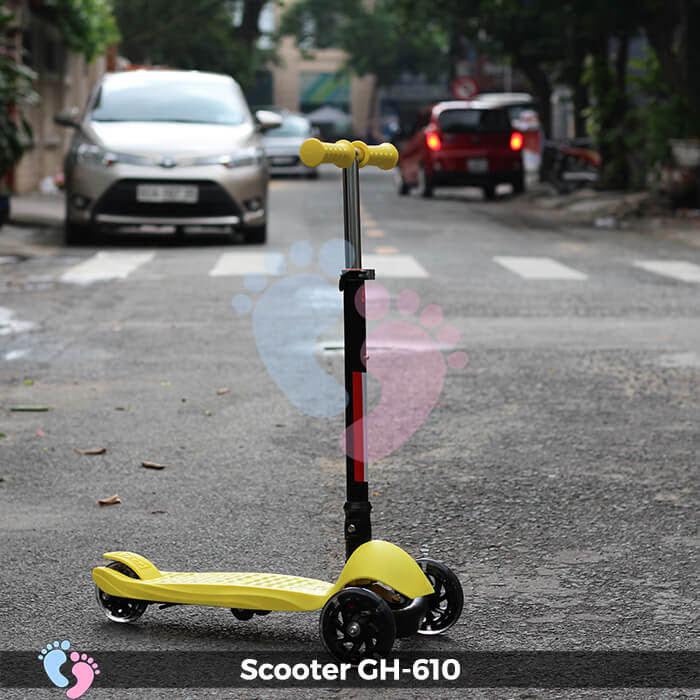Xe trượt Scooter GH-610 gấp gọn 1