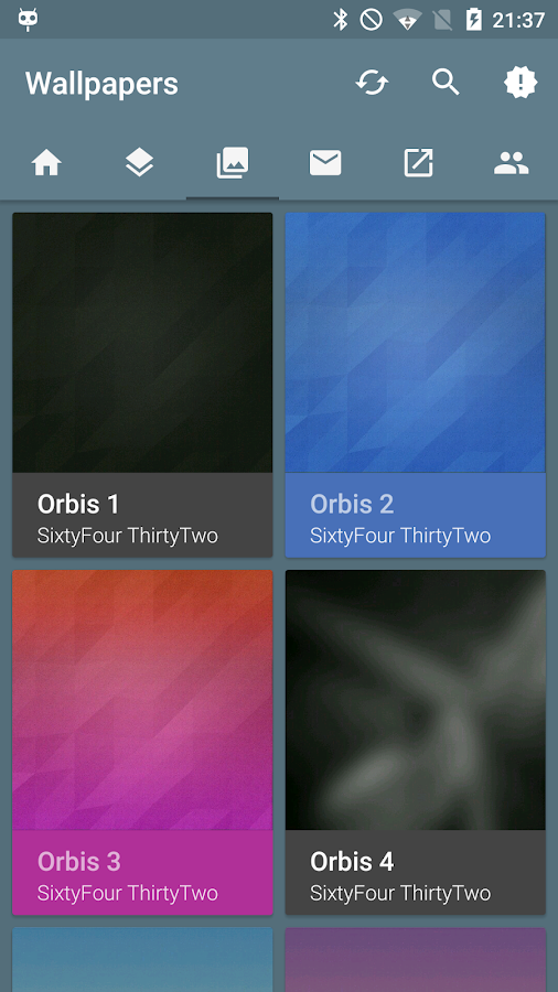 Orbis - Icon Pack- screenshot