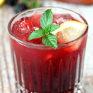 Blackberry Smash with Garrison Brothers Bourbon Whiskey Recipe