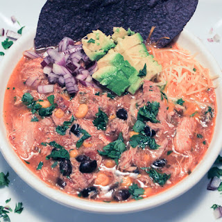 Slow Cooker Mexican Chicken and Black Bean Stew