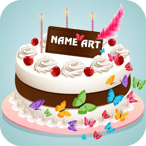 Marvelous Name Art On Birthday Cake Focus Filter Maker App Apps On Google Funny Birthday Cards Online Bapapcheapnameinfo