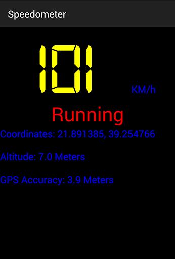 Speedometer screenshot 2
