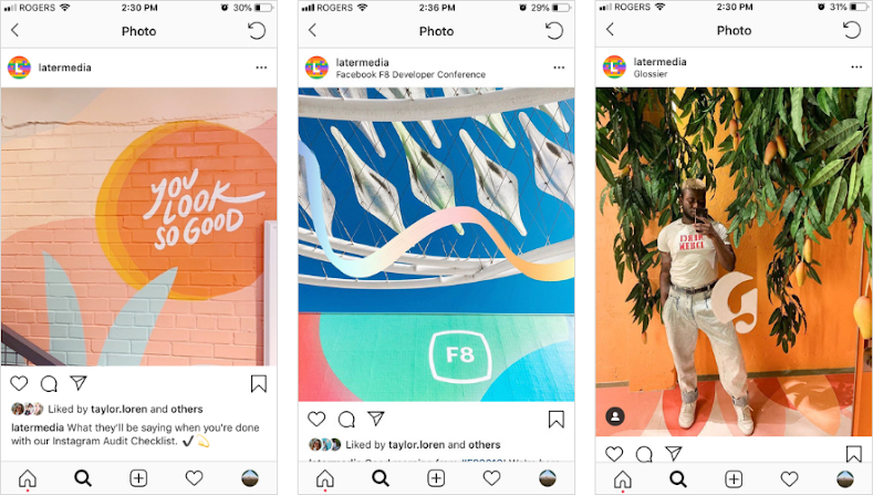 Aspect Ratio Photo Feed Instagram