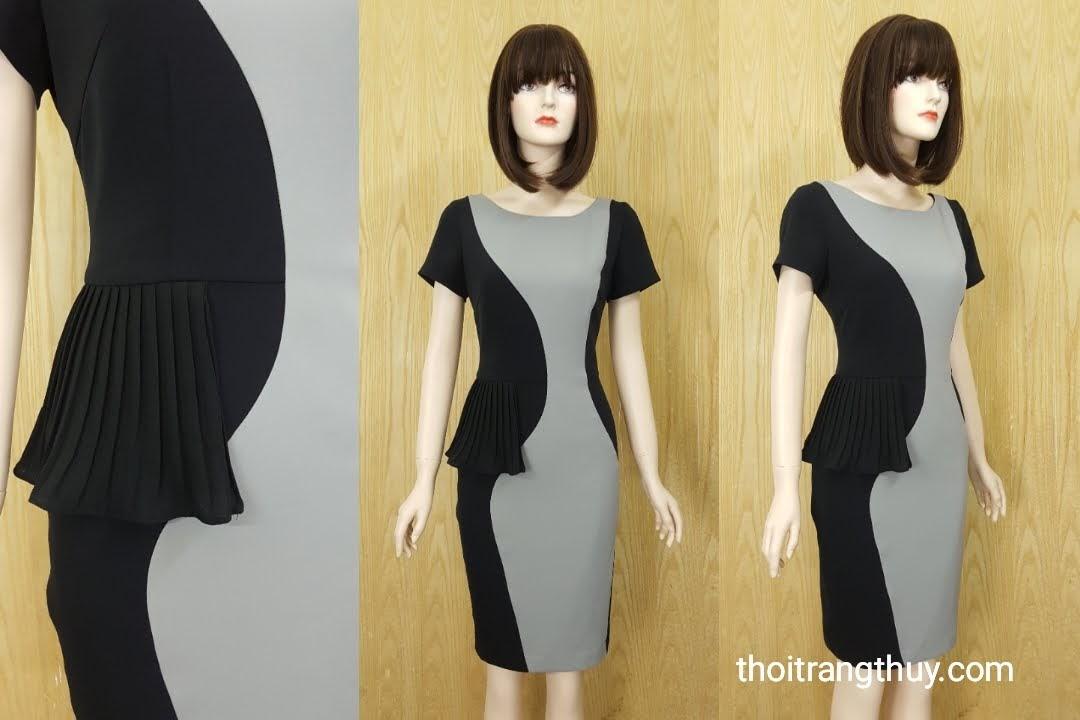 Váy bút chì cho nàng công sở V586 Thời Trang Thủy Hải Phòng