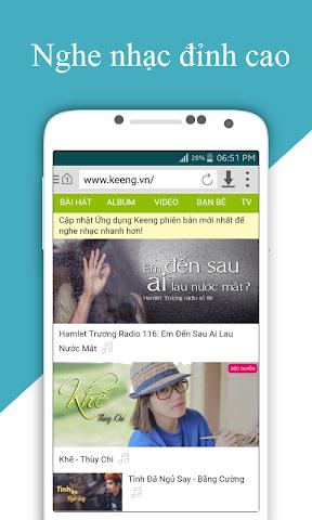 android Cốc Cốc HD Screenshot 2